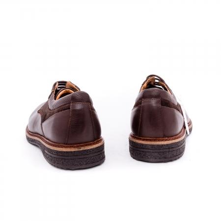 Pantofi barbati casual piele naturala Otter 020 C4 maro5