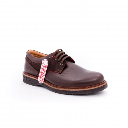 Pantofi barbati casual piele naturala Otter 020 C4 maro0
