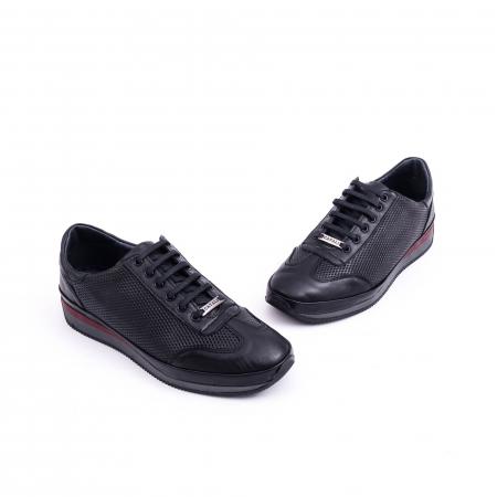 Pantof casual CataliShoes 191535 STAR negru3