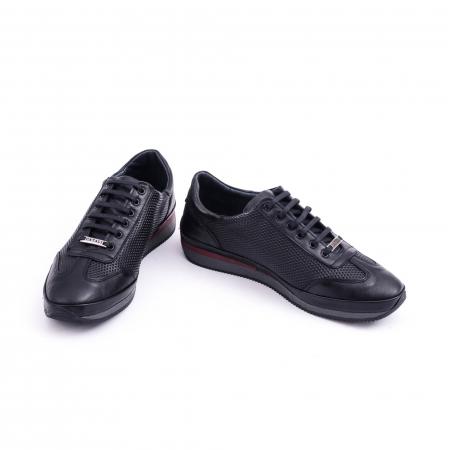 Pantof casual CataliShoes 191535 STAR negru4