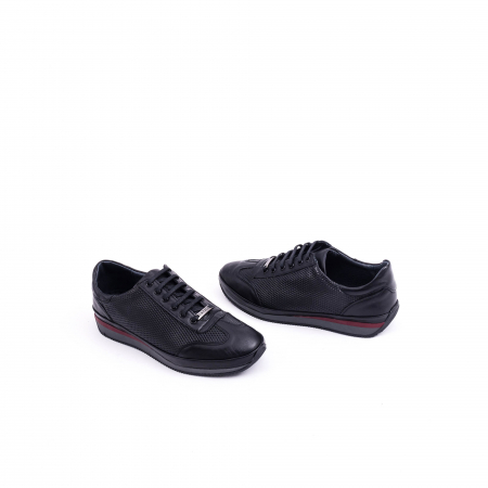 Pantof casual CataliShoes 191535 STAR negru1