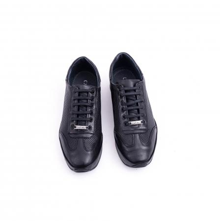 Pantof casual CataliShoes 191535 STAR negru5