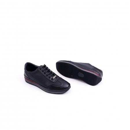 Pantof casual CataliShoes 191535 STAR negru2