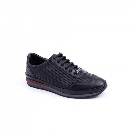 Pantof casual CataliShoes 191535 STAR negru0
