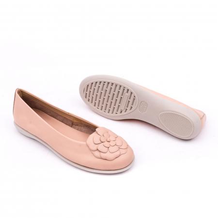 Pantof casual dama B226 pudra2