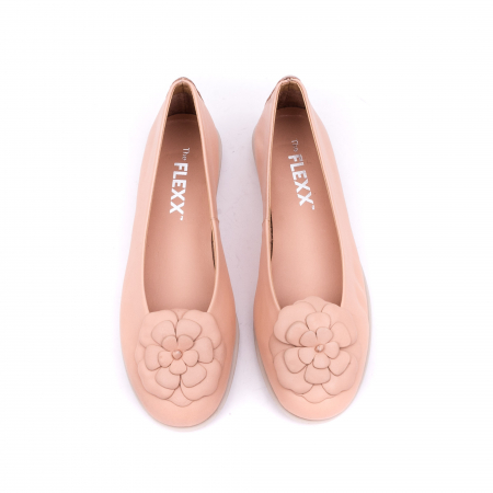 Pantof casual dama B226 pudra5