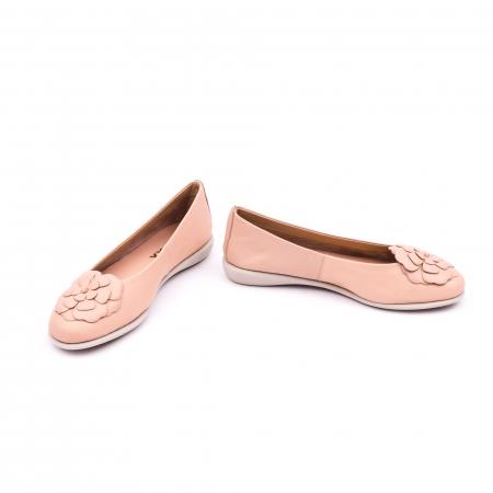 Pantof casual dama B226 pudra4