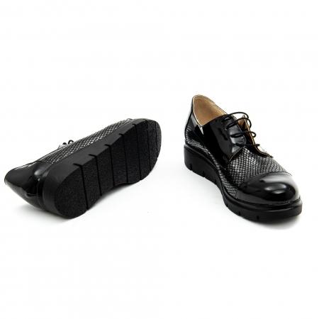 Pantof casual dama ,cod 1129 negru4