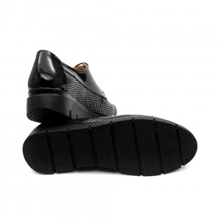 Pantof casual dama ,cod 1129 negru3