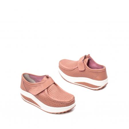 Pantofi dama casual de vara, piele naturala, 2075 P2