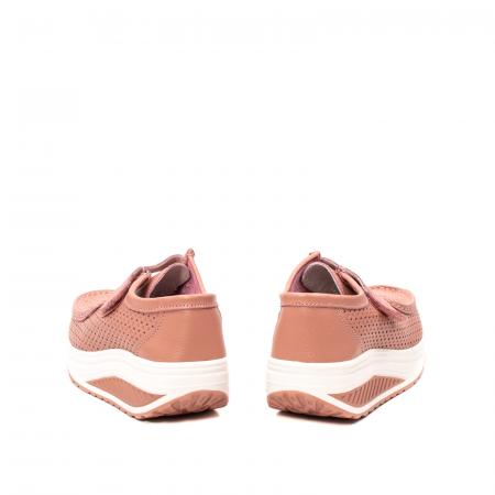 Pantofi dama casual de vara, piele naturala, 2075 P6