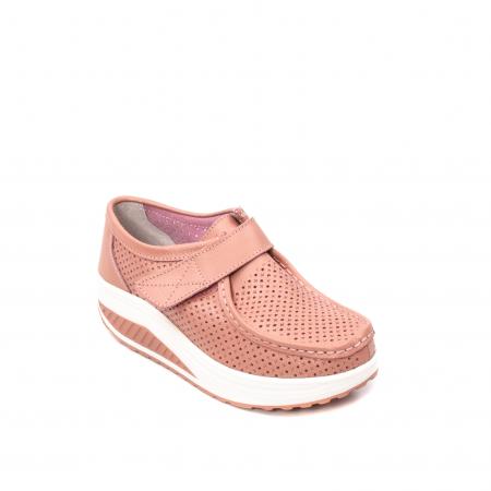 Pantofi dama casual de vara, piele naturala, 2075 P0