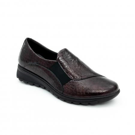 Pantof casual dama IMAC 9108 bordeaux0