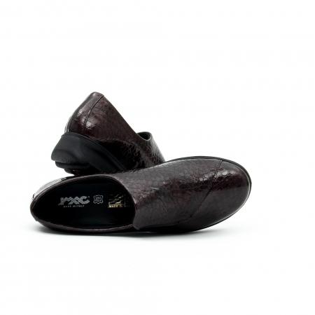 Pantof casual dama IMAC 9108 bordeaux3