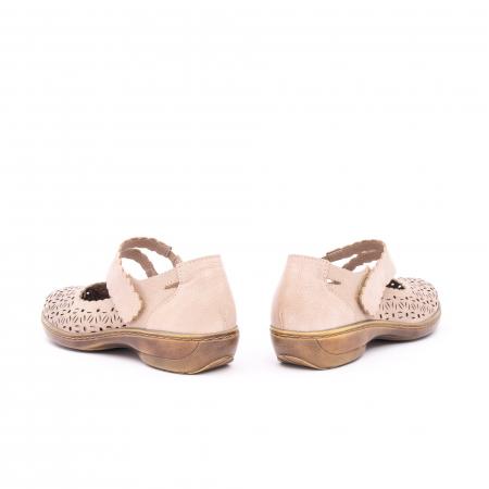 Pantof casual dama Kiarflex KR19040 bej7