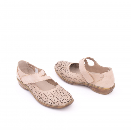 Pantof casual dama Kiarflex KR19040 bej3