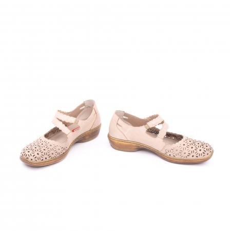 Pantof casual dama Kiarflex KR19040 bej4