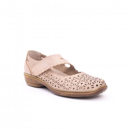Pantof casual dama Kiarflex KR19040 bej0