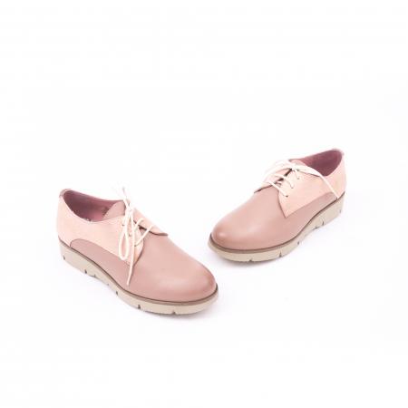 Pantof casual dama LFX 200 pudra1