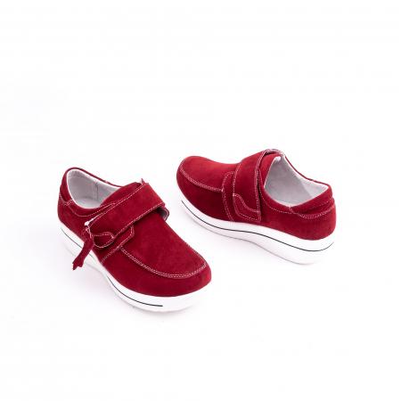 Pantof casual dama marca Angel Blue F002-56 burgundy suede2