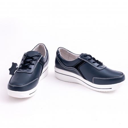 Pantof casual  Angel Blue F002-94 bleumarin3
