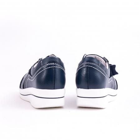 Pantof casual  Angel Blue F002-94 bleumarin5