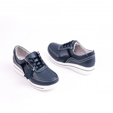 Pantof casual  Angel Blue F002-94 bleumarin1
