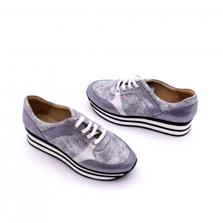 Pantof casual dama marca Nike Invest 1124 argintiu1
