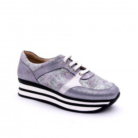Pantof casual dama marca Nike Invest 1124 argintiu0