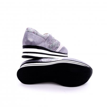 Pantof casual dama marca Nike Invest 1124 argintiu2