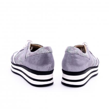 Pantof casual dama marca Nike Invest 1124 argintiu3