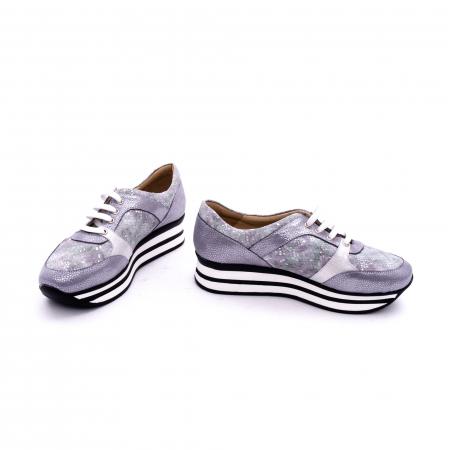 Pantof casual dama marca Nike Invest 1124 argintiu4