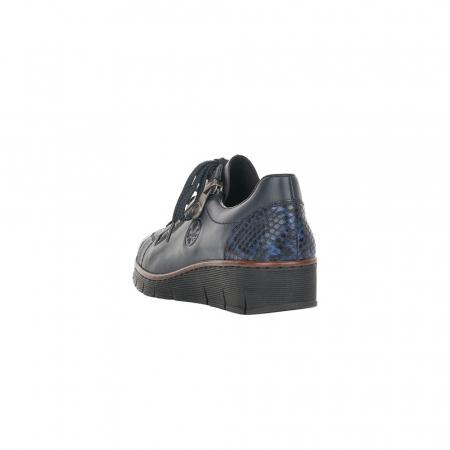 Pantofi casual dama, piele naturala, 53702-142