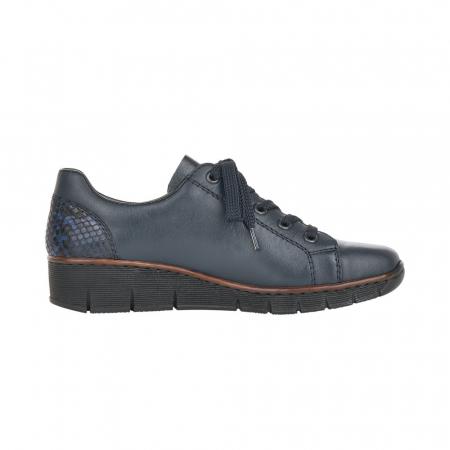 Pantofi casual dama, piele naturala, 53702-141