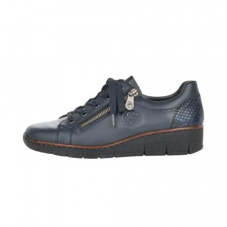 Pantofi casual dama, piele naturala, 53702-144
