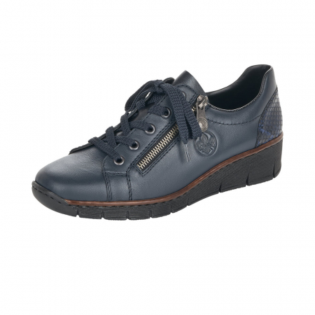 Pantofi casual dama, piele naturala, 53702-140