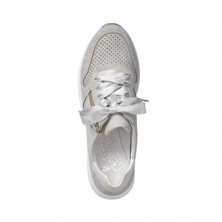 Pantofi dama casual din piele naturala, Rieker N4525-411