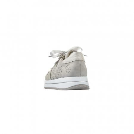 Pantofi dama casual din piele naturala, Rieker N4525-412