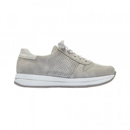 Pantofi dama casual din piele naturala, Rieker N4525-413