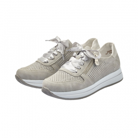 Pantofi dama casual din piele naturala, Rieker N4525-416