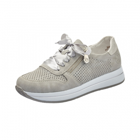 Pantofi dama casual din piele naturala, Rieker N4525-410