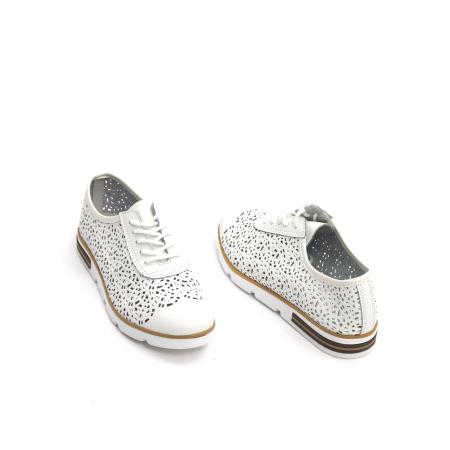 Pantof casual de vara 66626 alb3
