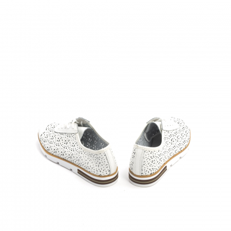 Pantof casual de vara 66626 alb6