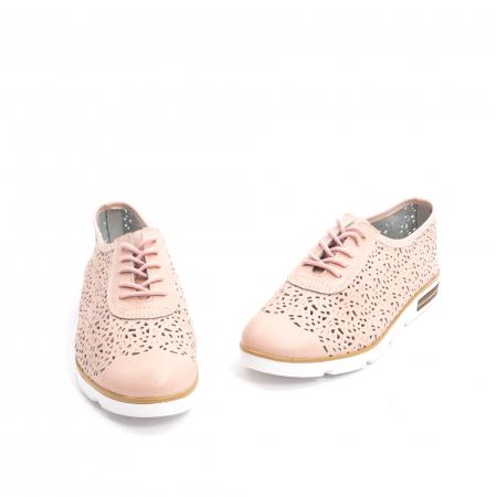 Pantof casual vara 66626 pudra1