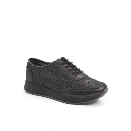 Pantof casual vara 67052 negru0