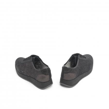 Pantof casual vara 67052 negru6