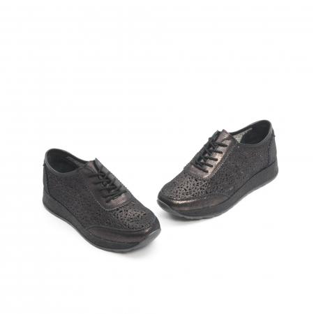 Pantof casual vara 67052 negru1