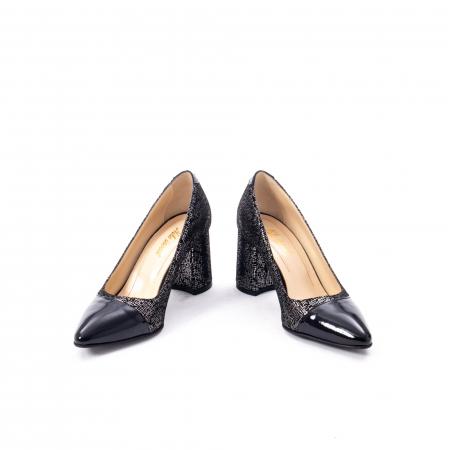 Pantofi eleganti dama piele naturala Nike Invest 287 NLN4, negru4