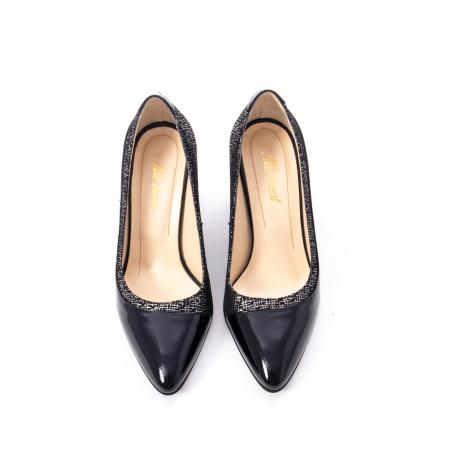Pantofi eleganti dama piele naturala Nike Invest 287 NLN4, negru5
