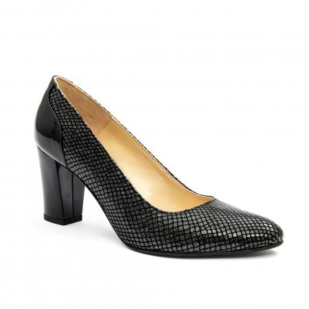 Pantofi dama eleganti piele naturala Nike Invest 953, negru0